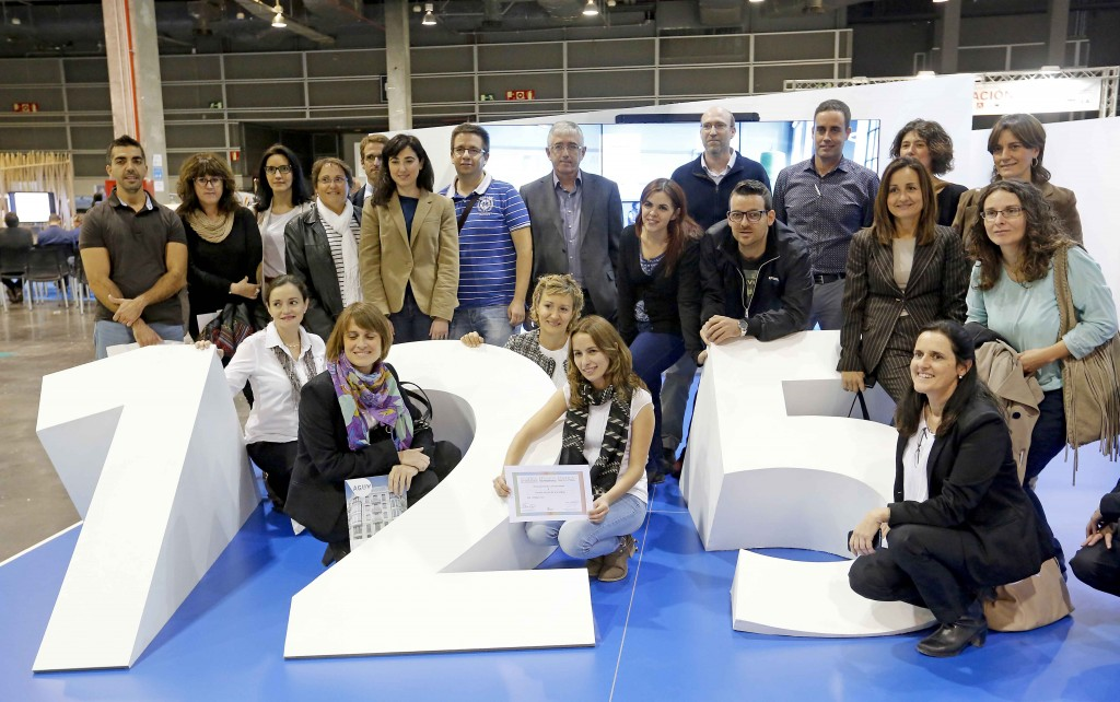 Ecofira // Efiaqua //Egetica // Encaja 201// Made from Plastic 2015 (Photo: Alberto Sáiz)